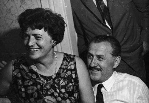 Benkő Dénes József és feleésge Balogh Éva Ilona Nagyvárad születésnap